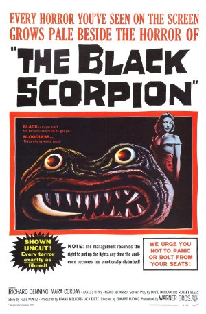 The Black Scorpion 1957